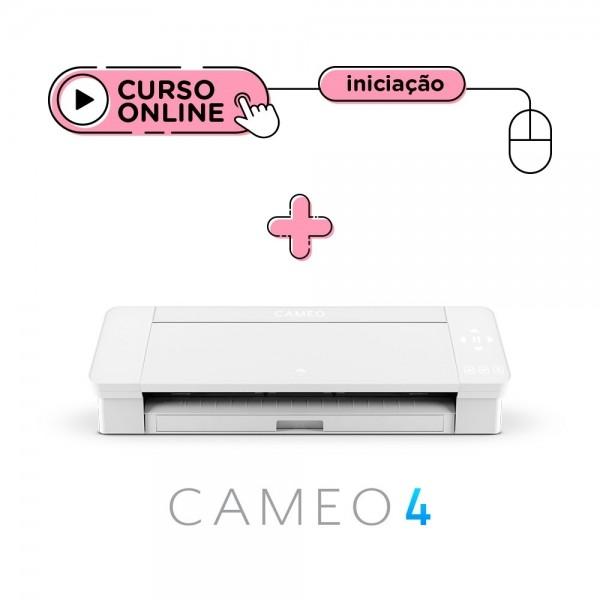 Silhouette Cameo 4 Branca + Curso Online de Iniciação